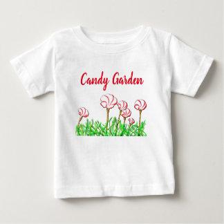Candy Cane Sorrel Garden Baby T-Shirt