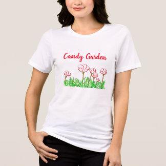 Candy Cane Sorrel Garden T-Shirt