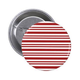 Candy-Cane-Stripe #13 2 Inch Round Button