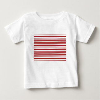 Candy-Cane-Stripe #13 Baby T-Shirt