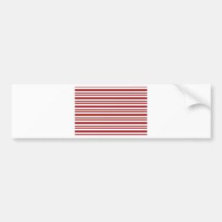Candy-Cane-Stripe #13 Bumper Sticker