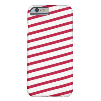 candy cane stripe barely there iPhone 6 case