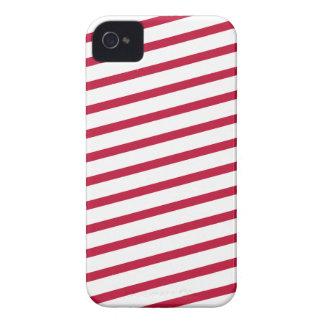 candy cane stripe Case-Mate iPhone 4 cases