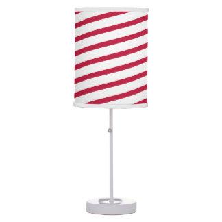 candy cane stripe desk lamps