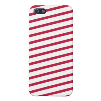 candy cane stripe iPhone 5/5S cover
