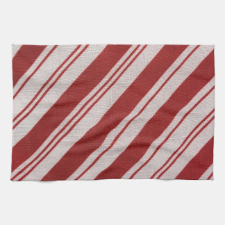 Candy Cane Stripe Kitchen Towel