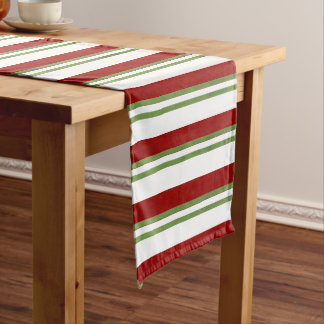 Candy Cane Stripes Long Table Runner