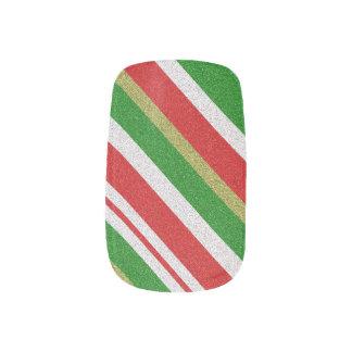 Candy Cane Strips Minx Nails Minx Nail Art
