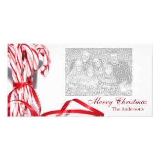 Candy Canes Christmas Photo Cards