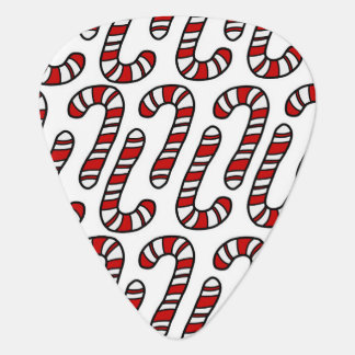 Candy Canes Guitar Pick
