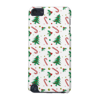 Candy Canes, Mistletoe, and Christmas Trees iPod Touch 5G Covers