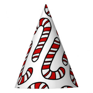 Candy Canes Party Hat