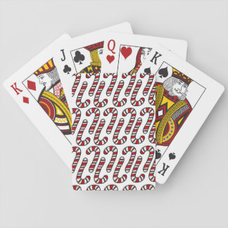 Candy Canes Playing Cards