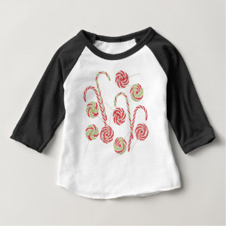 Candy Canes Set Baby T-Shirt
