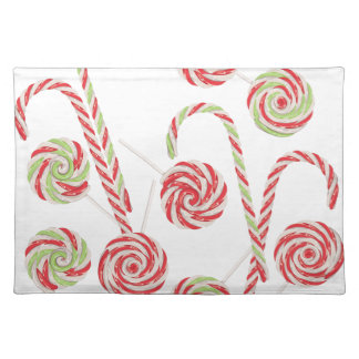 Candy Canes Set Placemat