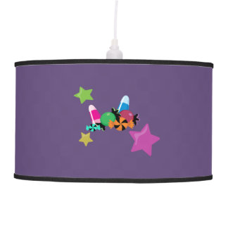 Candy Collage Halloween Design Ceiling Lamp