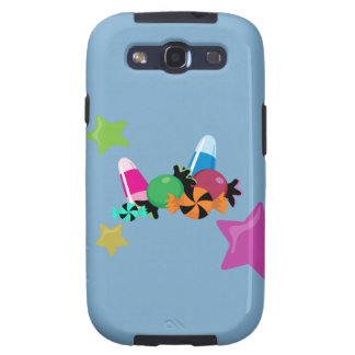 Candy Collage Halloween Design Galaxy SIII Cases