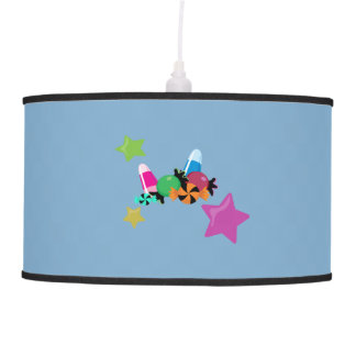 Candy Collage Halloween Design Pendant Lamp
