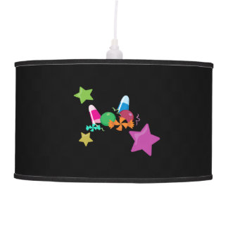Candy Collage Halloween Design Pendant Lamps