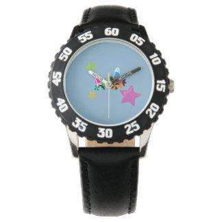 Candy Collage Halloween Design Wristwatch