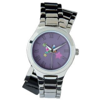 Candy Collage Halloween Design Wristwatches