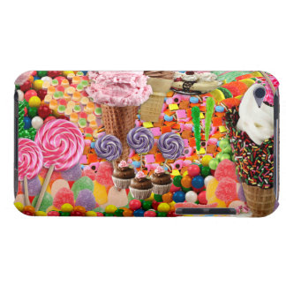 Candy Collage iPod Barely There Cover