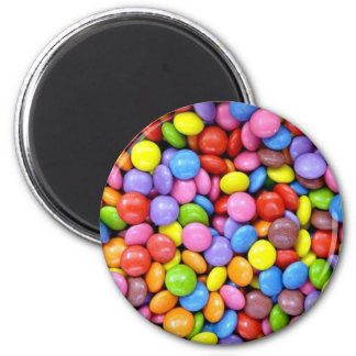 Candy: Colorful Confectionery Magnet