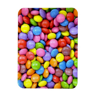 Candy: Colorful Confectionery Rectangular Photo Magnet