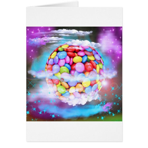 Candy Colorful Sweet Dessert Party Love Destiny Card