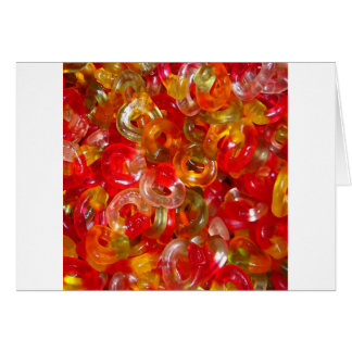 Candy Colorful Sweets Party Birthday Shower Art Greeting Card