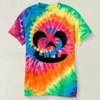 Candy Colors Pumpkin Jack O Lantern Halloween T-shirt