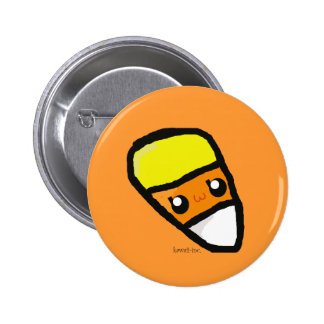 Candy Corn 2 Inch Round Button