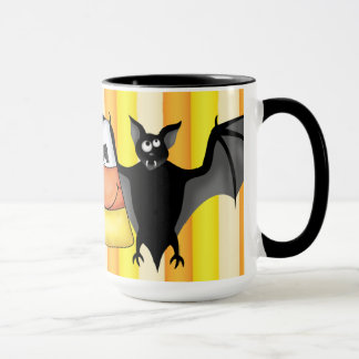 Candy Corn Addick coffee mug