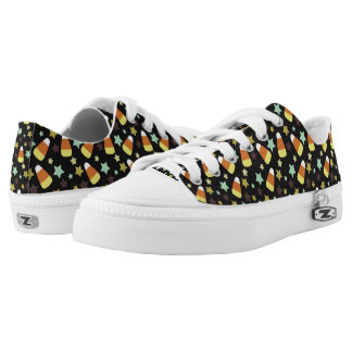 Candy Corn and Star Sneaker