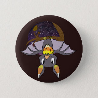 Candy Corn Bats 2 Inch Round Button
