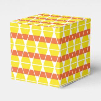 Candy Corn Celebration Favor Box