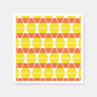 Candy Corn Celebration Paper Napkins