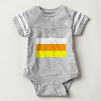 Candy Corn Color Baby Bodysuit