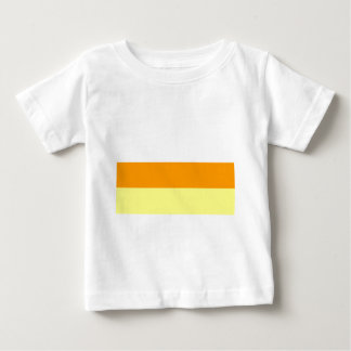 Candy Corn Color Baby T-Shirt