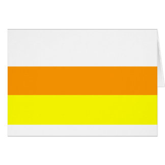 Candy Corn Color Card