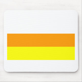 Candy Corn Color Mouse Pad