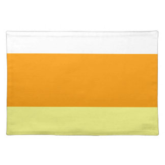 Candy Corn Color Placemat