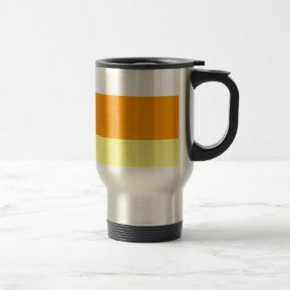 Candy Corn Color Travel Mug