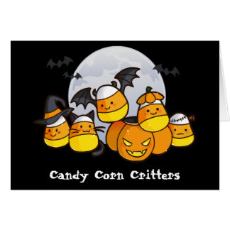 Candy Corn Critters Card
