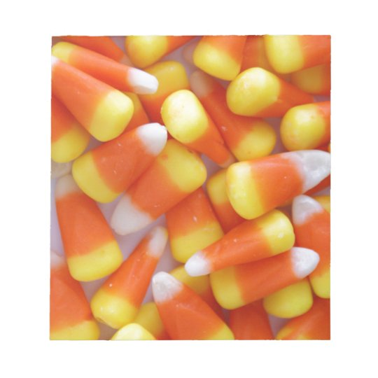 Candy Corn Galore Notepad