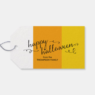 Candy Corn Halloween Gift Tags Pack Of Gift Tags