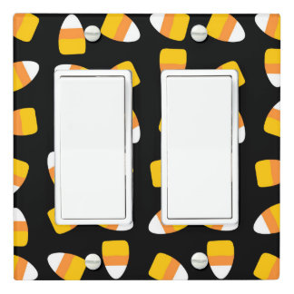 Candy Corn Halloween Light switch cover