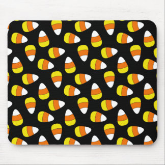 Candy Corn Halloween Mousepad