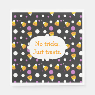 Candy Corn Halloween Party Napkins