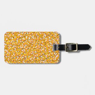 Candy Corn Luggage Tag